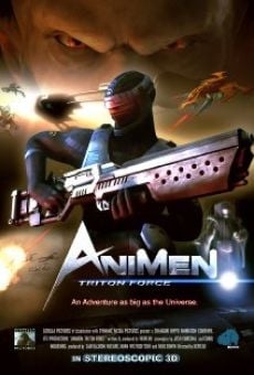 AniMen: Triton Force online