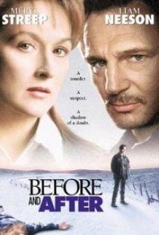 Ver película Antes y después