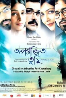 Ver película Aparajita Tumi