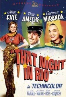 Ver película Aquella noche en Río