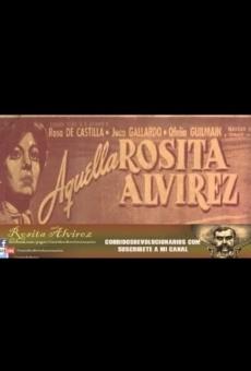 Aquella Rosita Alvírez en ligne gratuit