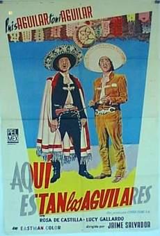 Ver película ¡Aquí están los Aguilares!