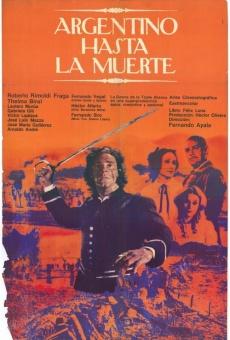 Ver película Argentino hasta la muerte