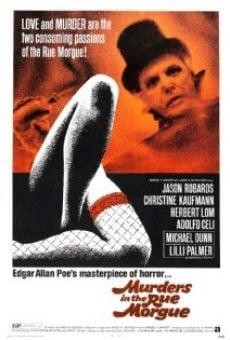 Ver película Asesinatos en la Calle Morgue