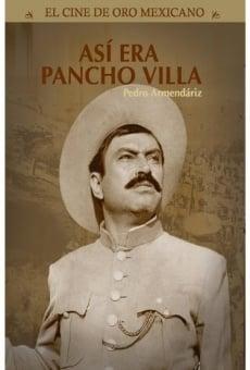 Película: Así era Pancho Villa