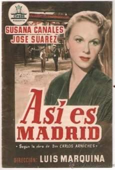 Ver película Así es Madrid