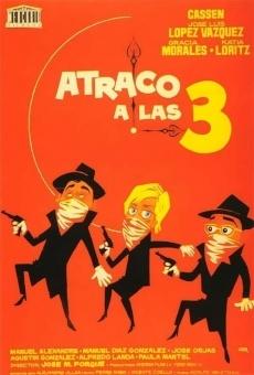 Ver película Atraco a las tres
