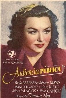 Ver película Audiencia pública
