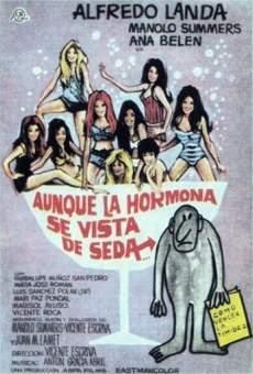 Ver película Aunque la hormona se vista de seda...