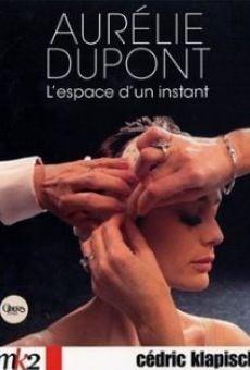 Aurélie Dupont danse l'espace d'un instant on-line gratuito