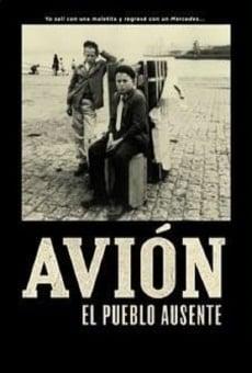 Avión, el pueblo ausente
