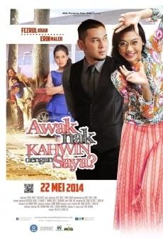 Ver película Awak Nak Kahwin Dengan Saya?