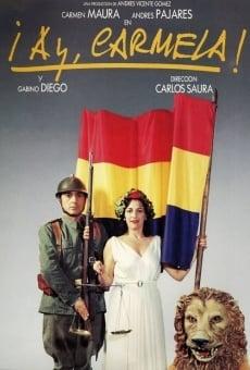 Ver película ¡Ay, Carmela!