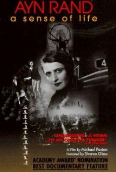 Ver película Ayn Rand: A Sense of Life