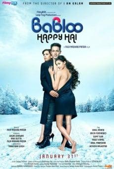 Ver película Babloo Happy Hai