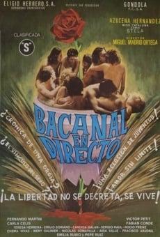 Ver película Bacanal en directo