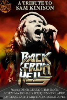 Back from Hell: A Tribute to Sam Kinison on-line gratuito