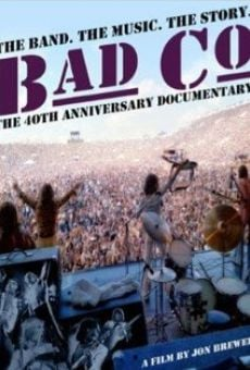 Watch Bad Company: The Official Authorised 40th Anniversary Documentary online stream