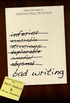 Ver película Bad Writing