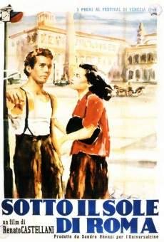 Ver película Bajo el sol de Roma