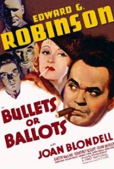 Ver película Balas o votos