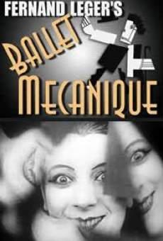 Ver película Ballet mécanique