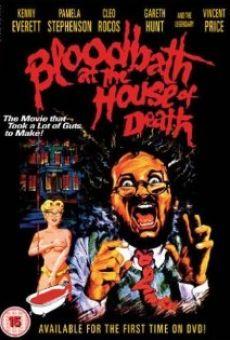 Ver película Baño de sangre en la casa de la muerte