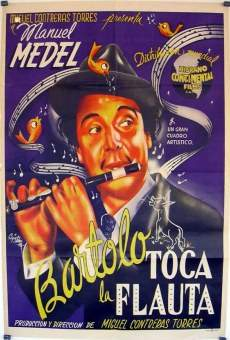 Bartolo toca la flauta