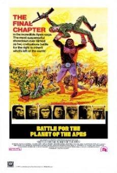 Batalla por el planeta de los simios online gratis