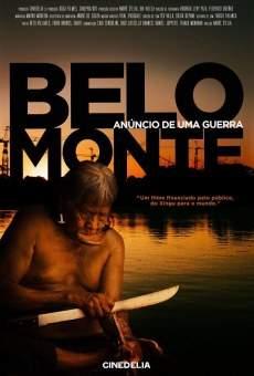 Ver película Belo Monte. Anúncio de uma Guerra