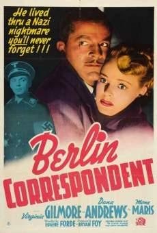 Ver película Berlin Correspondent