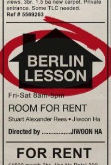 Watch Berlin Lesson online stream