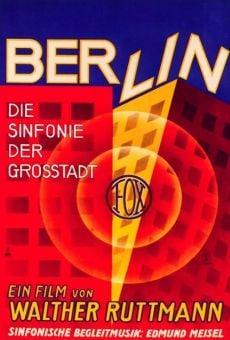 Ver película Berlín: Sinfonía de una ciudad