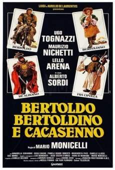Ver película Bertoldo, Bertoldino e... Cascacenno