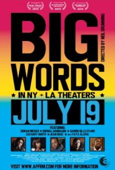 Ver película Big Words
