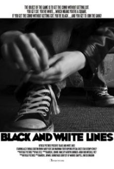 Black and White Lines on-line gratuito