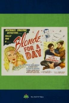 Ver película Blonde for a Day