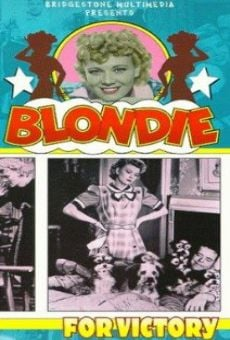 Ver película Blondie for Victory