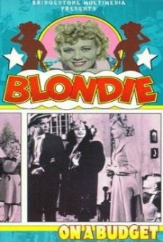 Ver película Blondie on a Budget