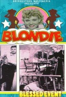Ver película Blondie's Blessed Event