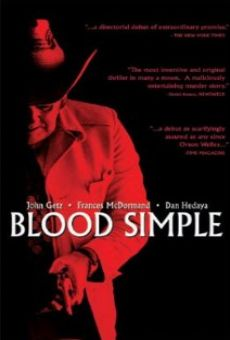 Ver película Blood Simple