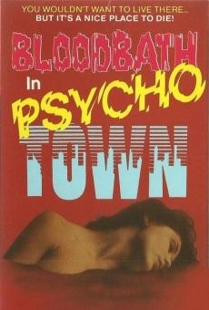 Ver película Baño de sangre en Psycho Town