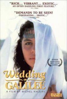 Ver película Boda en Galilea