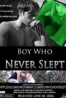 Película: Boy Who Never Slept