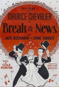 Ver película Break the News