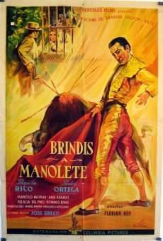 Ver película Brindis a Manolete