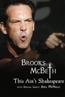 Brooks McBeth: This Ain't Shakespeare online