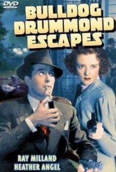 Ver película Bulldog Drummond Escapes