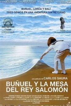Ver película Buñuel y la mesa del rey Salomón