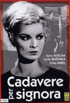 Ver película Cadavere per signora